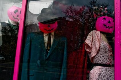 Pink Jack O'Lanterns